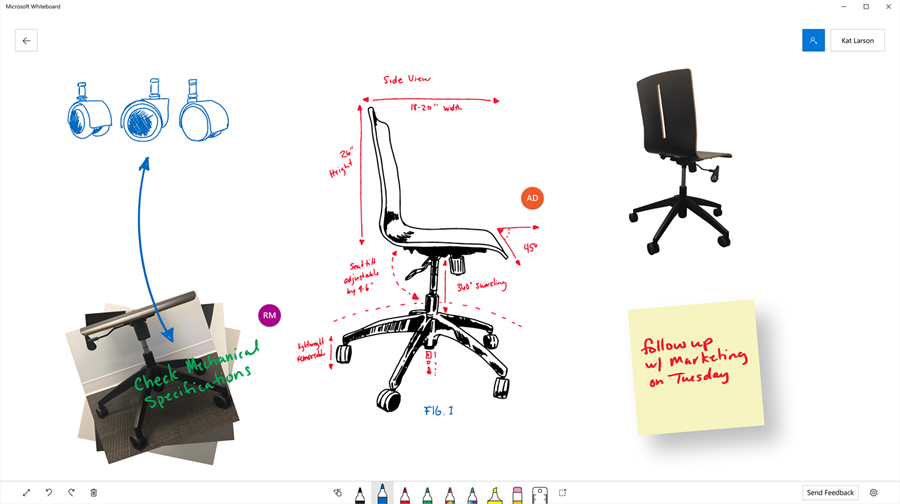 Microsoft Teams and Whiteboard - thumb image
