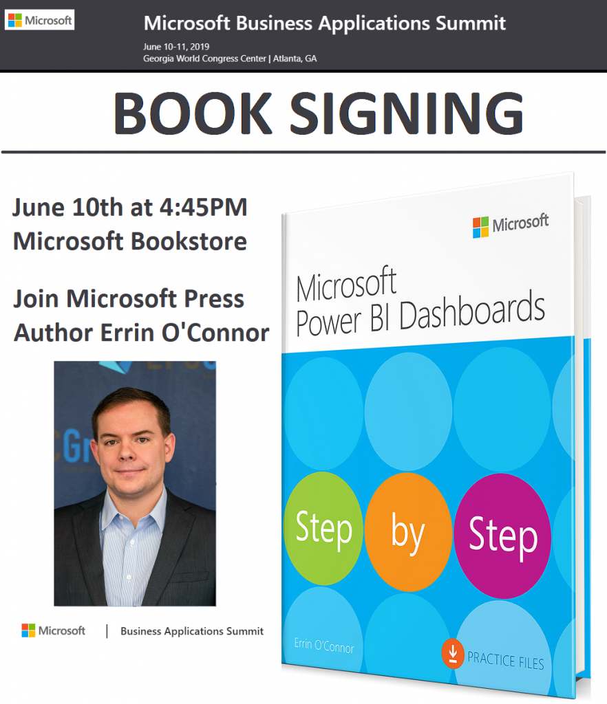 Power BI Book Signing Event: June 10th at 4:45PM - thumb image