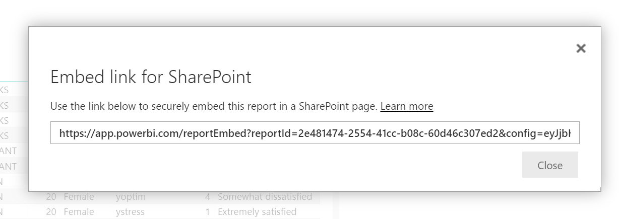 Embed Link For SharePoint