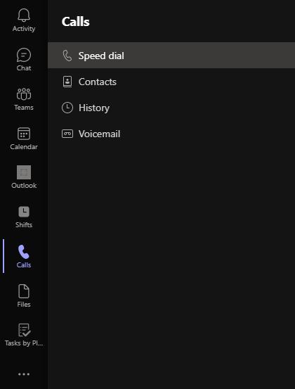 Number Dial In Microsoft Teams