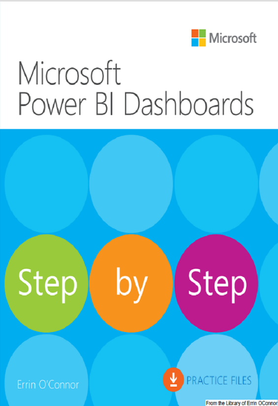 power bi step by step book